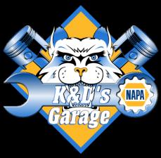 Logo for K&D's Garage